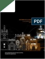 Silabo Historia de la Arquitectura III - 2017-I