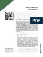 EMERG. MÉDICAS I. Capitulo 3. Medidas Médicas de Emerg.