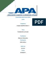 Cuaderno Práctico No. i de Lengua Espa;Ola Morena