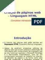 Aula Seguinte - Introdução HTML