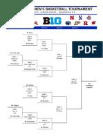 2017 Big Ten Tournament Bracket