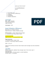 Financial Statement Analysis - 405