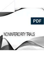 Noninferiority Trials - Part 1 - 2017-2