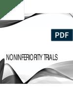 Noninferiority Trials - Part 1 - 2017-2