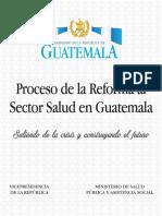 Propuesta de Reforma de Salud 23mayo2016