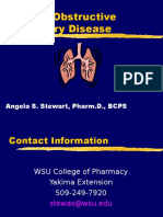 COPD Lecture Slides for BlackBoard