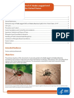 Surveillance and Control of Aedes Aegypti and Aedes Albopictus Us