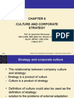 Culture and Corporate Strategy