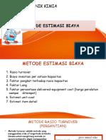 metode estimasi biaya