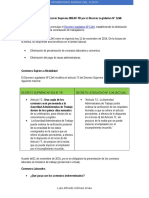 Modificatoria Del Decreto Supremo 003-97-TR