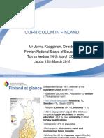 1 Curriculum in Finland