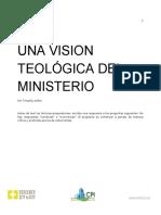 Una Vision Teologica Del Ministerio Contestado