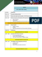 The First Philippine Telecoms Summit 2017 Program