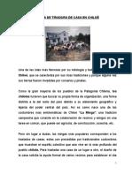 Minga de Tiradura de Casa en Chiloé