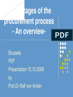 Ralf Von Ameln - The 6 Stages of the Procurement Process