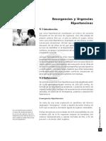EMERG. MÉDICAS II. Capitulo 9. Emerg. y Urgencias Hipertensivas