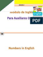 Lesson 3 Módulo de Inglés Auxiliares Orales U de C(Blog)
