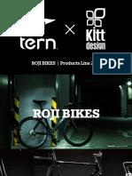 My2017 Roji Bikes Products Instruction