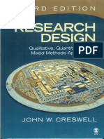Creswell J (2009) Research Design.pdf1