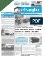 Edición Impresión Elsiglo 07-03-2017