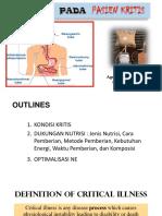 Nutrisi Pd Pasien Kritis 17092015 - OK