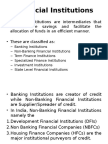 Non Banking Financial Companies