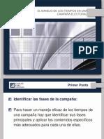 EL MANEJO DE LOS TIEMPOS EN UNA CAMPAÑA ELECTORAL - Carlos Fara (1).pdf