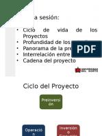 ciclo proyectos