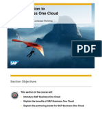 An Introduction to SAP Business One Cloud