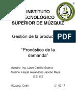 GESTION DE LA PRODUCCION 1 Unidad 2
