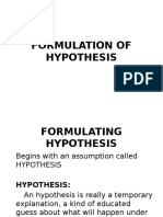formulationofhypothesis-170225083447