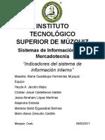 indicadores del sistema de informacion interno