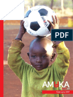 Amuka Foundation Newsletter