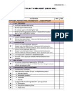 2013-3 Drum Mix Plant Checklist