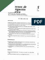 Cuadernos de Investigación Histórica 5