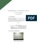 factoring quadratic introduction