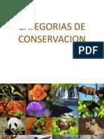 2. Categorias de Conservacion