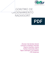 Algoritomo Radixsort