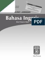 Kunci Jawaban PR Bahasa Inggris 11A_Revisi BP