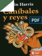 Canibales y Reyes - Marvin Harris