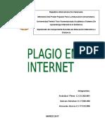 Plagio en Internet