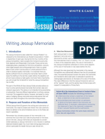 Writing Memorials Guide