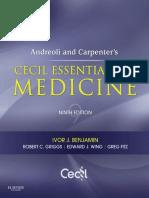 Cecil Essentials Of Medicine 9th Edition Doctor Of Medicine