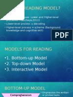 Presentation of Reading Models
