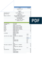 Compressor Material List Required for 2 Years