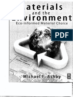 Materials and the Environment. Ashby