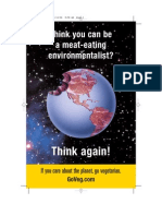 Think you can be a meat-eating environmentalist