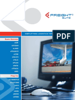 EFreight Suite Brochure