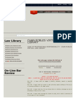 Code of Professional Responsibility - Chan Robles Virtual Law Library