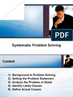 02 Systematic Problem Solving